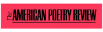 The American Poetry Review Logo