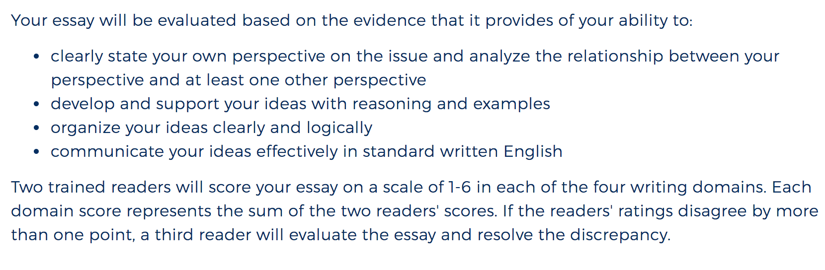 ACT ESSAY Multiple Perspectives